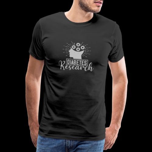 diabetes research - T-shirt Premium Homme