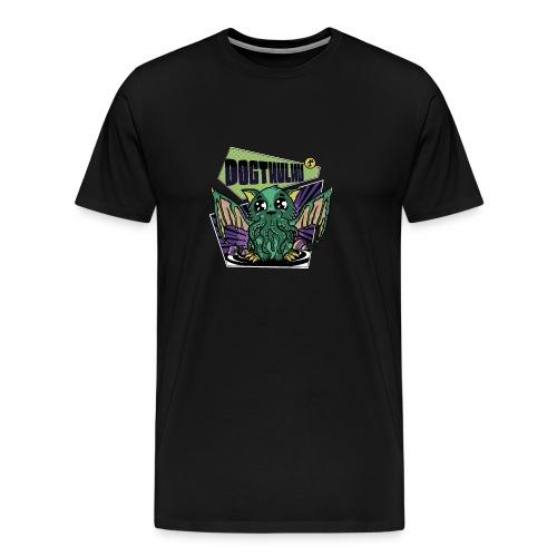 DogCthulhu Monstruo Kawaii - Camiseta premium hombre