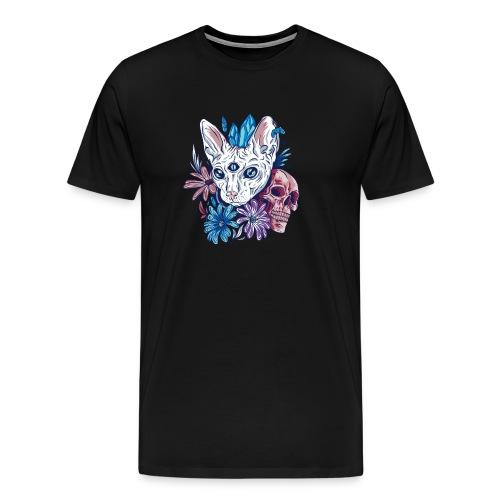 Gato místico - Camiseta premium hombre