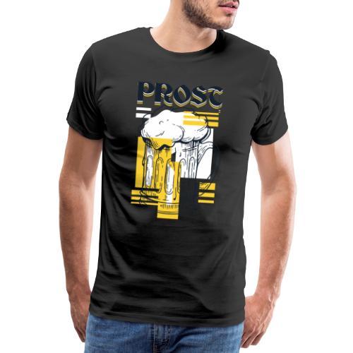 bier shirt mit Spruch - Männer Premium T-Shirt