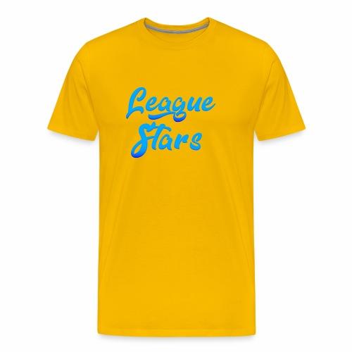 LeagueStars - Mannen Premium T-shirt