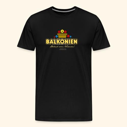 Balkonien T Shirt - Männer Premium T-Shirt