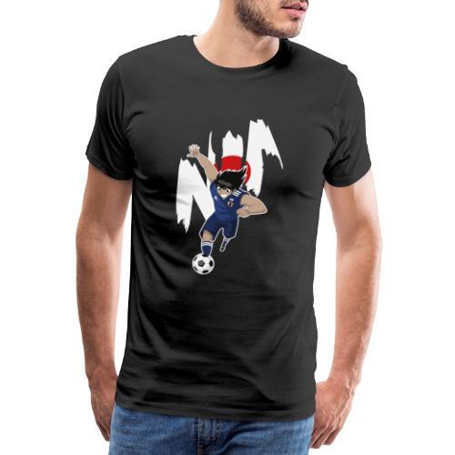 HYUGA JAPAN - COUPE DU MONDE - RUSSIE 2018 - T-shirt Premium Homme