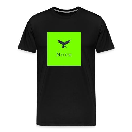 More. - Miesten premium t-paita