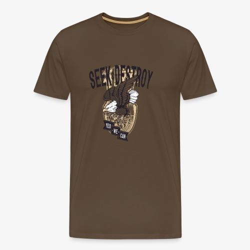 Seek Destroy - Shirts - Men's Premium T-Shirt