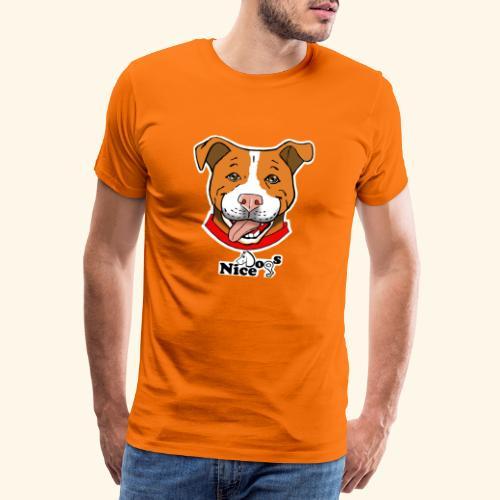 pitbull2 - Maglietta Premium da uomo