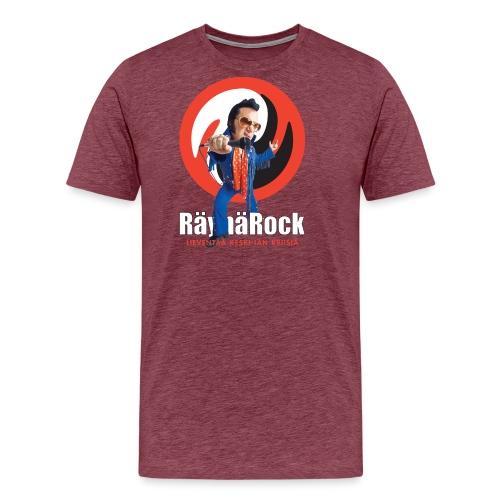 Räyhärock musta - Miesten premium t-paita