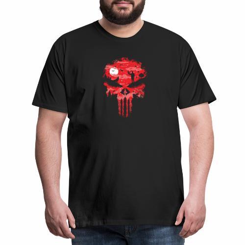 Night Skull - Miesten premium t-paita