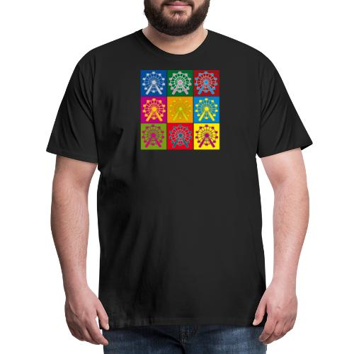Wien Riesenrad - Männer Premium T-Shirt