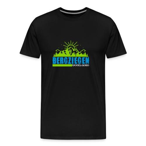 ziegentour3 - Männer Premium T-Shirt