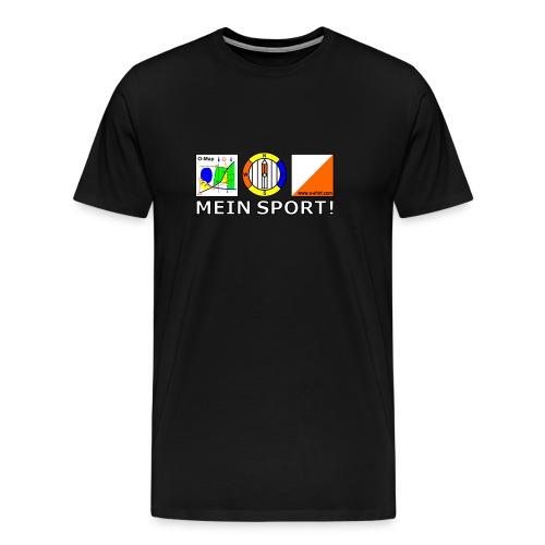 mein sport2 - Männer Premium T-Shirt