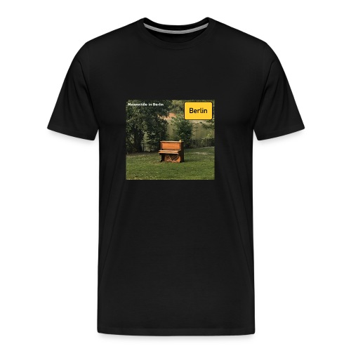 lonely Piano - Männer Premium T-Shirt