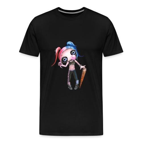 Daddys lil monster - Männer Premium T-Shirt
