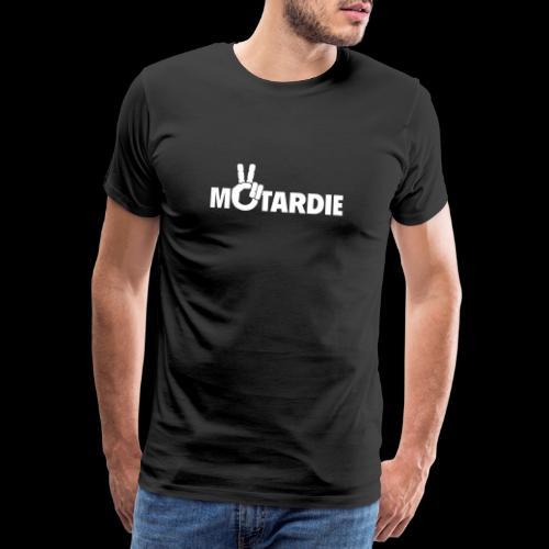 Motardie BLANC - T-shirt Premium Homme