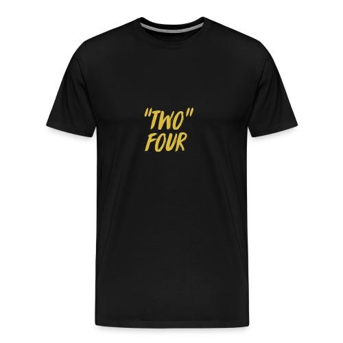 Two four logo design - Men's Premium T-Shirt