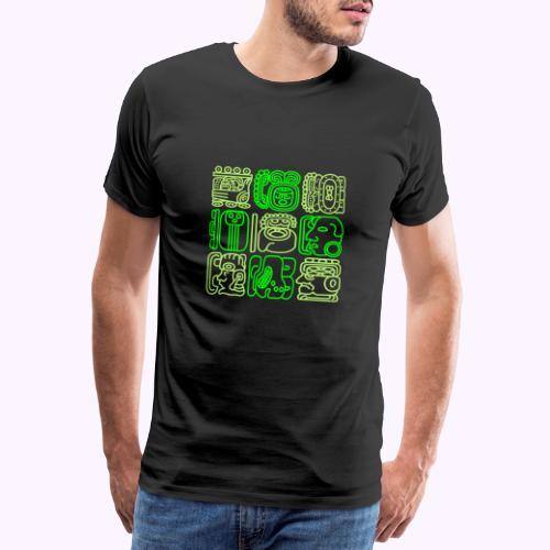 Bolontiku Maya - Camiseta premium hombre
