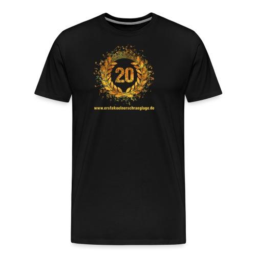 20 farbig freigestellt www png - Männer Premium T-Shirt