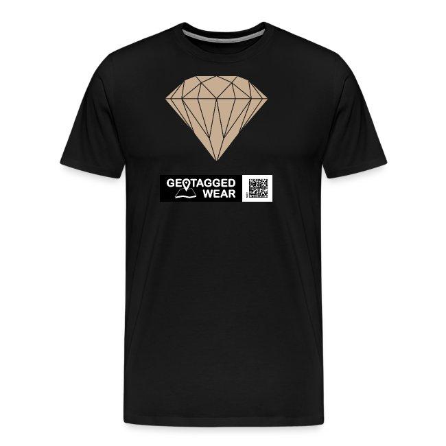 Men Diamond Pantone Warm Sand