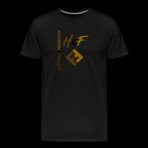 h&F luxury style - Maglietta Premium da uomo