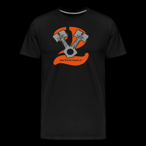 Kolben im V2-Stil - Männer Premium T-Shirt