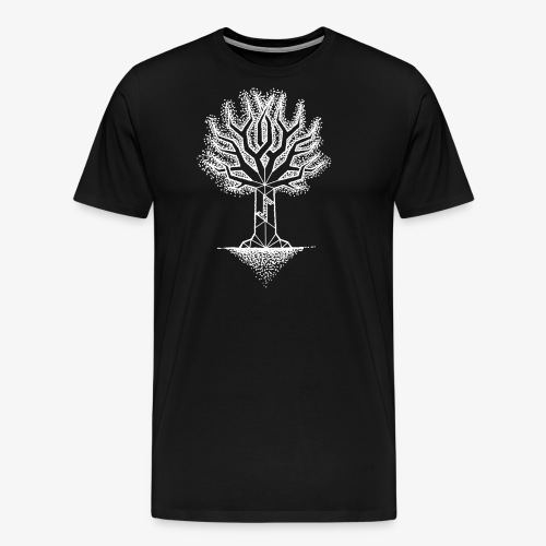 EihwazWhite - Männer Premium T-Shirt