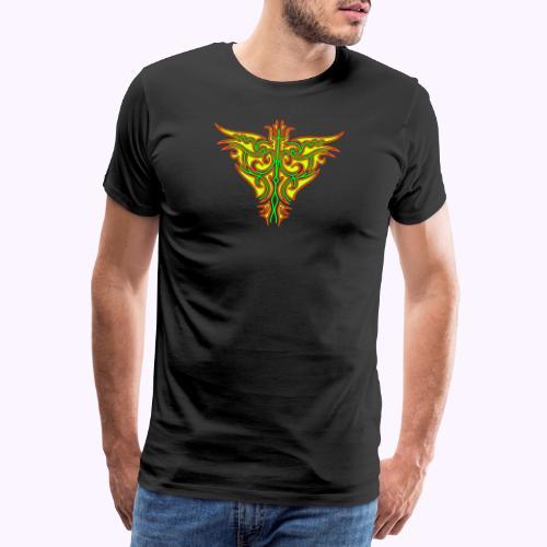 Maori Firebird - Mannen Premium T-shirt