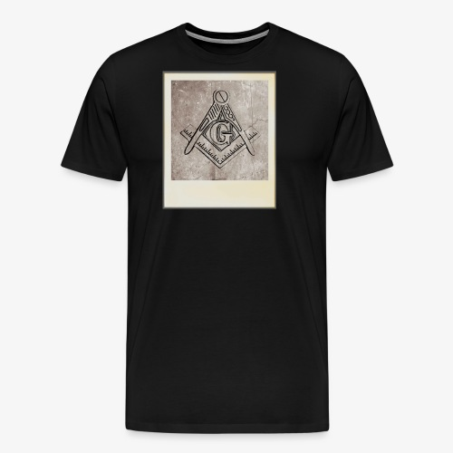 Compás y escuadra - Camiseta premium hombre