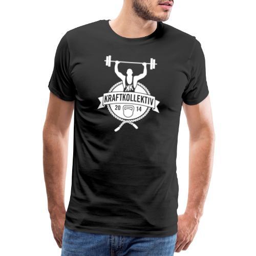 Kraftkollektiv_Logo_clean_white - Männer Premium T-Shirt