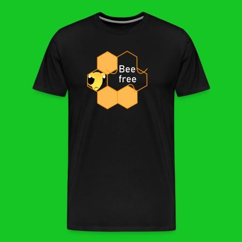 Bee Free - Mannen Premium T-shirt