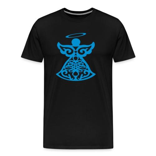 Ange gardien stylisé - Men's Premium T-Shirt