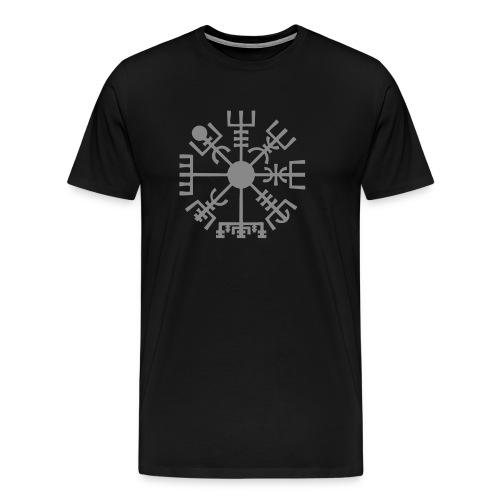 Vegvisir-The-Runic-Viking - T-shirt Premium Homme