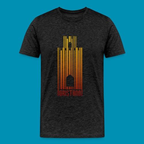 Torre di Mariano barcode - Maglietta Premium da uomo