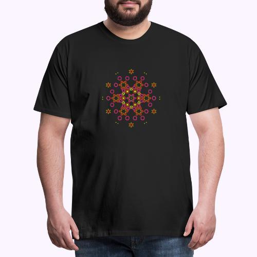 Mandala Nube - Camiseta premium hombre
