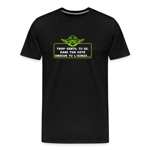 cote obscur - T-shirt Premium Homme