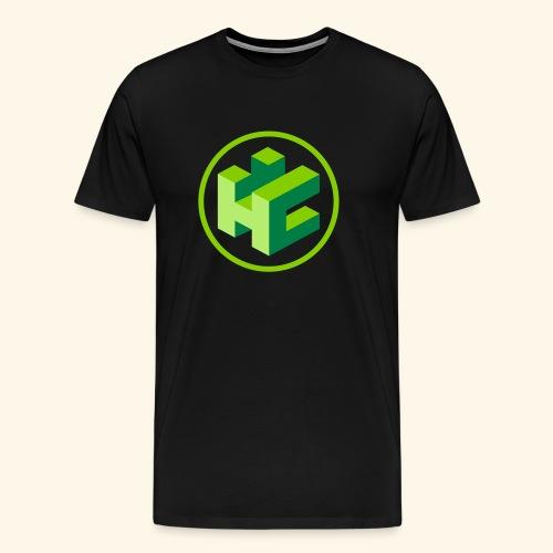 LogoBlau - Männer Premium T-Shirt