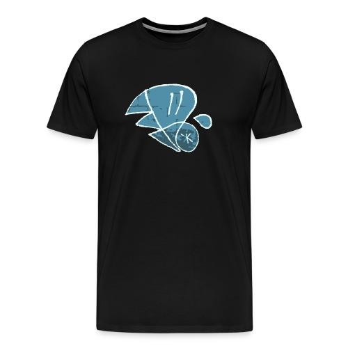 Vienna One Bitmap - Männer Premium T-Shirt