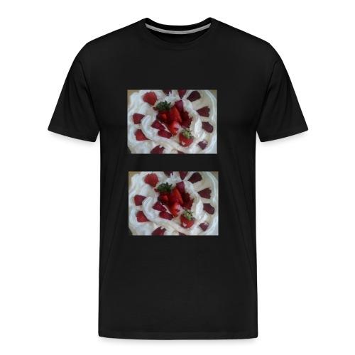 Strawberry Sunday jpg - Men's Premium T-Shirt