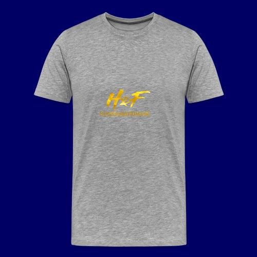 h f gold2 - Maglietta Premium da uomo