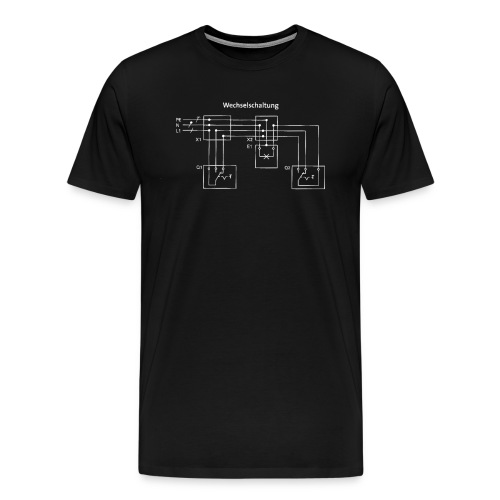 Wechselschaltung Designs - Männer Premium T-Shirt