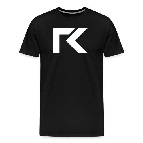 Rxmsey Logo - White - Men's Premium T-Shirt