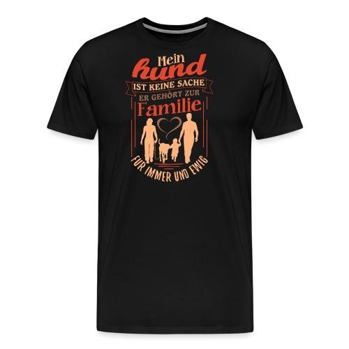Mein Hund ist keine Sache - Männer Premium T-Shirt