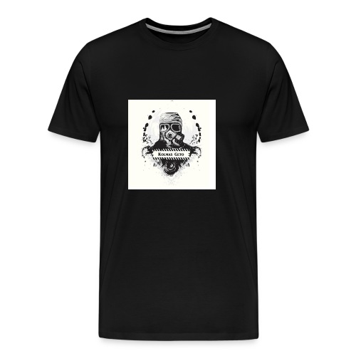 KOLMAS GETO LOGO VALMIS ISO RESOLUUTIO - Miesten premium t-paita