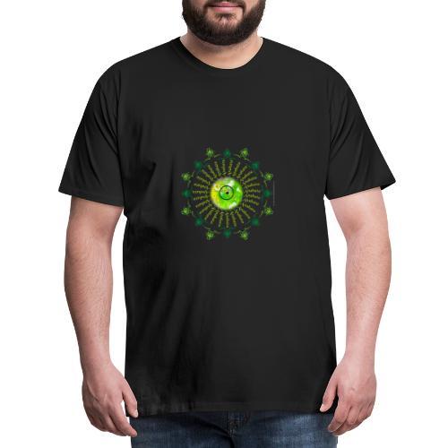 Vibration du Chakra coeur - T-shirt Premium Homme