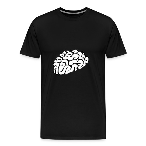 Brain gemaked von Brainmaker Copy png - Männer Premium T-Shirt
