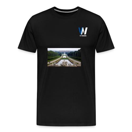 logo vnews senza sfondo fw png - Maglietta Premium da uomo