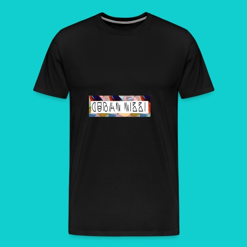 Cuban Nikki Logo - Men's Premium T-Shirt