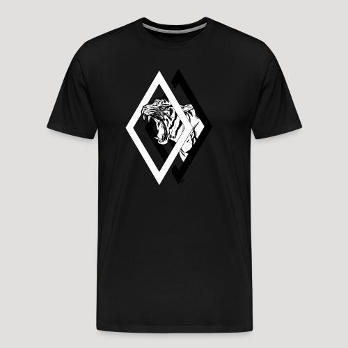 Tiger - Mannen Premium T-shirt