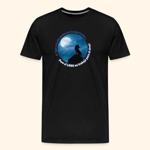 LOBO - Camiseta premium hombre