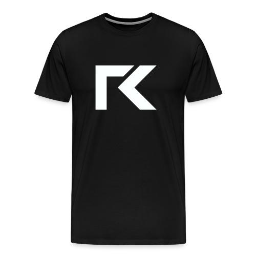 Rxmsey Logo - White - Men's Premium T-Shirt