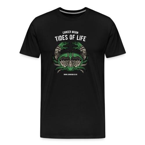 Cancer Moon Dark - Men's Premium T-Shirt